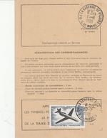 Cachet  LA VARENNE ST HILAIRE (Val De Marne)  Sur YT PA 40 Sur Ordre De Réexpédition De La Poste - Marcofilia (sobres)