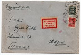 RUSSIA/RUSSIE-AIR MAIL COVER TO GERMANY 1926/CANCEL BERLIN C2 LUFTPOST - Storia Postale