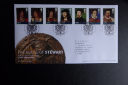 GREAT BRITAIN [UK] SG 3046-52 THE HOUSE OF STEWART - FDC