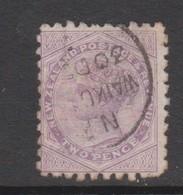 New Zealand 1882  New Zealand Advertising TRUEBRIDGE On 2d Violet Queen.used - 1855-1907 Crown Colony