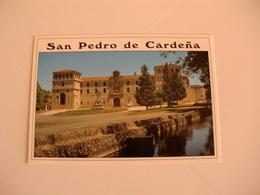 Postcard Postal Spain Burgos San Pedro De Cardeña Fachada Principal - Burgos