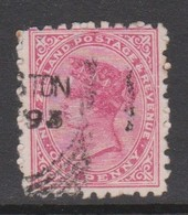 New Zealand 1882  Stamp Advertising SUNLIGHT Soap I On 1d Redt Queen.used - 1855-1907 Crown Colony