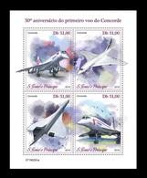 Sao Tome And Principe 2019 Mih. 8117/20 Aviation. Supersonic Airliners Concorde MNH ** - Sao Tome And Principe
