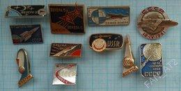 USSR / Badges / Soviet Union / RUSSIA / Space. Cosmonautics. - Space