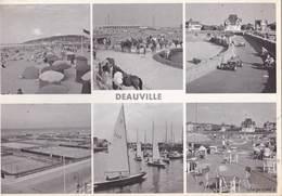 CPS M : Deauville (14)  Multivues Sapromos Plage Poney Karting Tennis  Régates Golf     éd Sapromos 5163 - Deauville