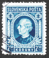 Slovakia - Scott #32 Used - Slovakia