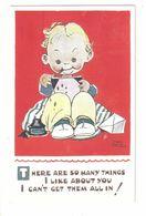 MABEL LUCIE ATTWELL ART DRAWN CARD No.5139 CHILDREN - Attwell, M. L.
