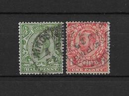 LOTE 1887 /// GRAN BRETAÑA - YVERT Nº: 129/130 // CATALOG.2014//COTE: 3 € // ¡¡¡ LIQUIDATION !!! - 1902-1951 (Könige)