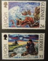 GUERNSEY 1997 EUROPA TALES AND LEGENDS SG735-736 MNH 2 VALUES MYTHOLOGY - Guernsey