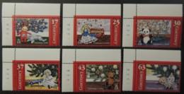 GUERNSEY 1998 CHRISTMAS SG810-815 MNH 6 VALUES PANDA TELE-TUBBY TEDDY BEAR DOLL CHILDREN - Guernsey