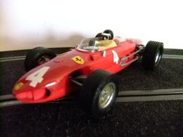 SCALEXTRIC FERRARI 156 Formula Uno / Rojo 4 - Carros