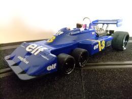 SCALEXTRIC TYRRELL P - 34 6 Ruedas Azul 3 - Carros