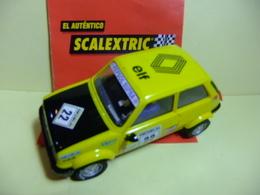 SCALEXTRIC RENAULT 5 COPA / Elf 22 Amarillo - Carros