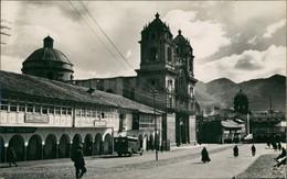 Cusco Real Photo Postcard With Street View/Anden Dorf Strassen Partie 1960 Privatfoto - Peru
