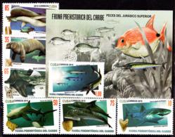 647  Fauna Prehistorique Des Caraibes - Prehitoric Fauna - 2015 - MNH - Cb - 3.50 - Stamps