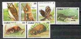 647  Prehistoric Fauna - Owls - YV 2393 à 98 - MNH -  Cb - 2.85 - Stamps