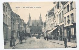 Mechelen Malines : Rue Haute. Porte De Bruxelles ** - Malines