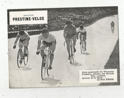 Photographie, 175x125 Mm, Cyclisme, Piste De Vincennes,Grands Prix Cyclistes,finale Du Prix FRIOL, Frais Fr 1.55 E - Ciclismo