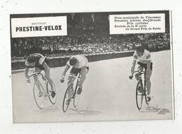 Photographie, 175x125 Mm, Cyclisme, Piste De Vincennes,Grands Prix Cyclistes,8 E Série Prix De Paris, Frais Fr 1.55 E - Ciclismo