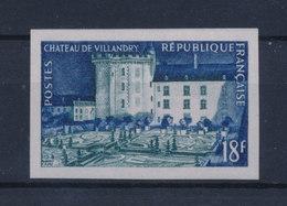 FRANCE 1954 -Château De VILLANDRY  ND YT995a ** MNH Neuf Sans Charnière - France