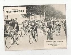Photographie, 175x125 Mm, Cyclisme, Paris-Reims-Verdun,1934,départ à BONDY,  Frais Fr 1.55 E - Ciclismo