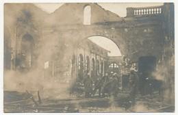 CPA Photo - GENEVE (Suisse) - Incendie De La Gare De Cornavin Le 12 Février 1904 à 3h 1/2 Du Matin - GE Genève
