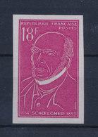 FRANCE 1957 - Victor SCHOELCHER - ND YT 1092a ** MNH Neuf Sans Charnière - France