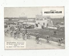 Photographie, 175x125 Mm, Cyclisme, MONTLHERY, Championnat De France Sur Route,1935 ,départ , Frais Fr 1.55 E - Cyclisme