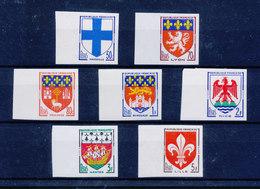 FRANCE 1958 - Armoiries Des Villes (III) - ND YT 1180/1186 BDF Bord De Feuille ** MNH Neuf Sans Charnière - France