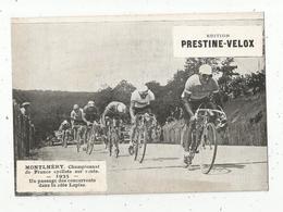 Photographie, 175x125 Mm, Cyclisme, MONTLHERY, Championnat De France Sur Route,1935 , La Côte Lapize , Frais Fr 1.55 E - Cyclisme