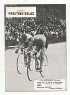 Photographie, 175x125 Mm, Cyclisme, Piste De Vincennes,Grands Prix De Paris PRO ,arrivé, Michard..., Frais Fr 1.55 E - Ciclismo