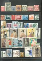JAPON Petit Lot En Valeurs Multiples Qualité * Classiques ** Post Classiques - Japon