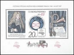 ** Czechoslovakia - 1986 - Mi. Bl. 67C - Stamp Exhibition - Tchécoslovaquie