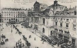 Carte Postale Ancienne De Angers La Place Du Ralliement - Angers