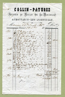 """THONNANCE-LES-JOINVILLE  (52) : """" MOULIN DE LA MARZELLE - COLLIN-PATUREZ """"  1873 - France"""