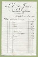 """JOINVILLE  (52) : """" CONFECTIONS - LELOUP Jeune """"  1892 - France"""