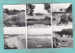 Small Multi View Post Card Of St Austell Bay, South Cornwall,K78. - England