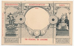 CPA - SUISSE - Tir Fédéral De Lucerne - LU Luzern