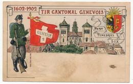 CPA - SUISSE - 1602-1902 - Tir Cantonal Genevois - GE Geneva