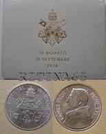 VATICANO !!! 1000 LIRE 1978 FDC IN ARGENTO GIOVANNI PAOLO I° !!! - Vaticano