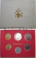 VATICANO !!! SERIE DIVISIONALE 1979 FDC GIOVANNI PAOLO II° ANNO I° !!! - Vaticano