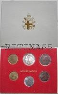 VATICANO !!! SERIE DIVISIONALE 1980 FDC GIOVANNI PAOLO II° ANNO II° !!! - Vaticano