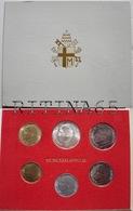 VATICANO !!! SERIE DIVISIONALE 1981 FDC GIOVANNI PAOLO II° ANNO III° !!! - Vaticano