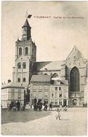 Feldpost-AK Tienen - Tirlemont, Eglise De St.-Germain 1914 - Tienen