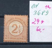 D.-Reich Nr.  29 *     (ed3689    ) Siehe Scan - Deutschland