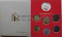 VATICANO !!! SERIE DIVISIONALE 1982 FDC GIOVANNI PAOLO II° ANNO IV° !!! - Vaticano