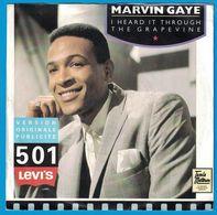 DISQUE 45 TOURS PUBLICITAIRE VERSION ORIGINALE PUBLICITE 501 LEVI'S MARVIN GAYE - Unclassified