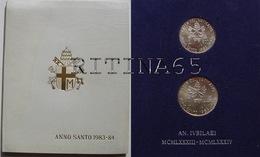 VATICANO !!! SERIE 1983/84 ANNO SANTO FDC GIOVANNI PAOLO II° !!! - Vaticano