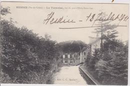 PAS DE CALAIS - HESDIN -  La Ternoise, Vue Du Pont D'Huby Saint Leu - Hesdin