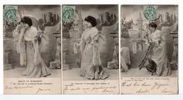 CPA - JEUNE FEMME - ARMAND ET MARGUERITE - 5 Cartes - Femmes